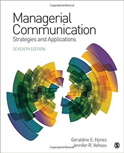 Managerial Communication: Strategies and Applications (7th Edition) [2019] - Epub + Converted pdf