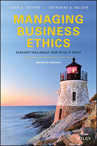 Managing Business Ethics: Straight Talk about How to Do It Right (7th Edition) - Original PDF