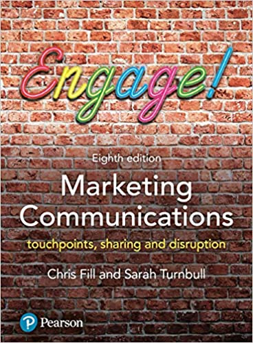 Marketing Communications: touchpoints, sharing and disruption (8th Edition) - Original PDF