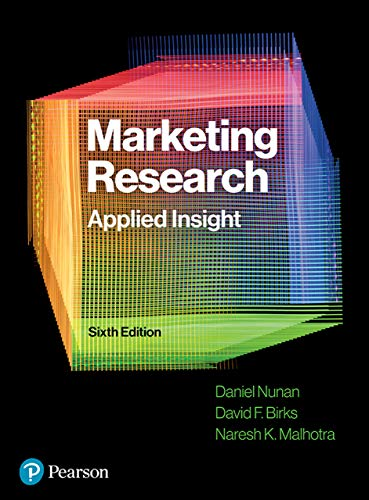 Marketing Research Applied Insight (6th Edition) - Original PDF
