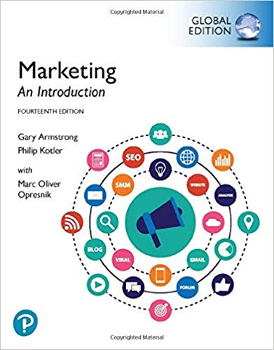 Marketing:  An Introduction, Global Edition (14th Edition) - Original PDF