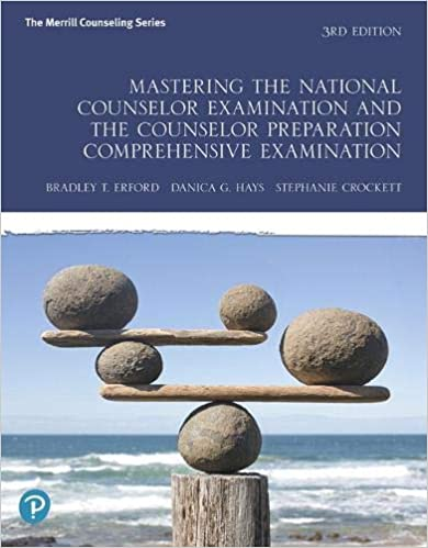 Mastering the National Counselor Examination and the Counselor Preparation Comprehensive Examination (3rd Edition) [2020] - Original PDF