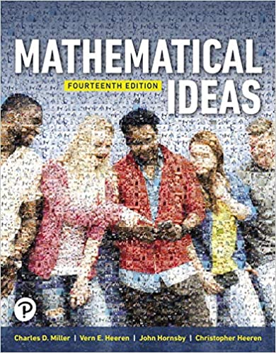 Mathematical Ideas (14th Edition) [2019] - Original PDF