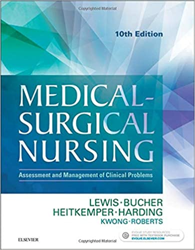 Medical-Surgical Nursing Assessment and Management of Clinical Problems (10th Edition) - Converted Pdf