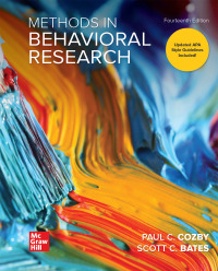 Methods in Behavioral Research (14th Edition) - Epub + Converted Pdf