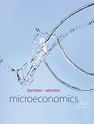 Microeconomics (2nd Edition) BY Bernheim - Orginal Pdf