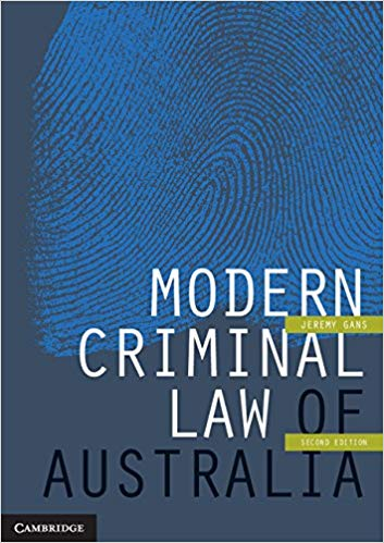 Modern Criminal Law of Australia 2nd Edition