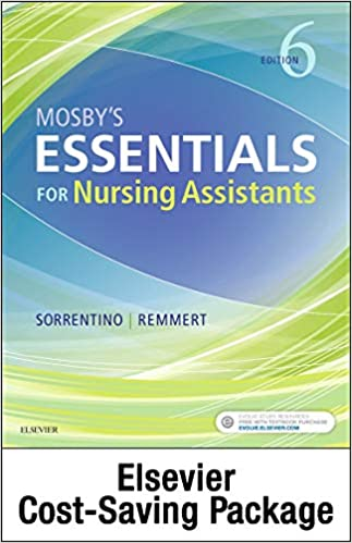 Mosby's Essentials for Nursing Assistants - Text, Workbook, and Clinical Skills package (6th Edition) - Epub + Converted Pdf