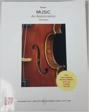 Music: An Appreciation 12th Edition - Original PDF