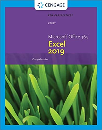New Perspectives Microsoft Office 365 & Excel 2019 Comprehensive - Orginal Pdf