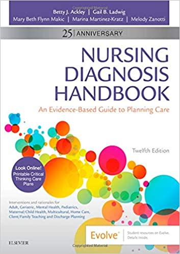 Nursing Diagnosis Handbook: An Evidence-Based Guide to Planning Care (12th Edition) [2020] - Original PDF