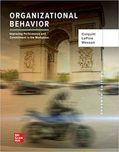 Organizational Behavior: Improving Performance and Commitment in the Workplace (7th Edition) - Epub + Converted pdf