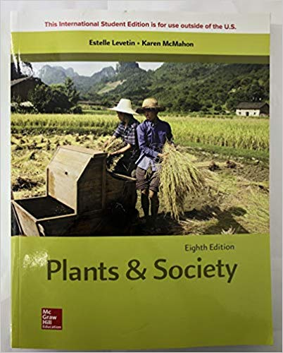 ISE Plants and Society (8th Edition)