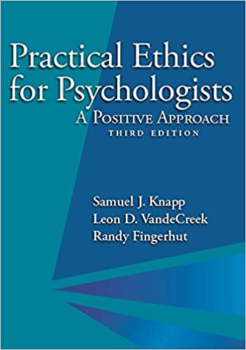 Practical Ethics for Psychologists: A Positive Approach (3rd Edition) - Epub + Converted pdf