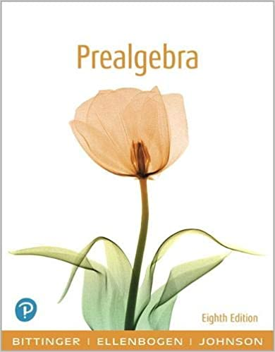 Prealgebra (8th Edition)[2019] - Original PDF