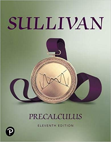 Precalculus (11th Edition) [2020] - Original PDF