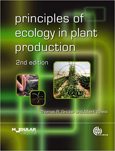 Principles of Ecology in Plant Production (Animal & Veterinary Science)