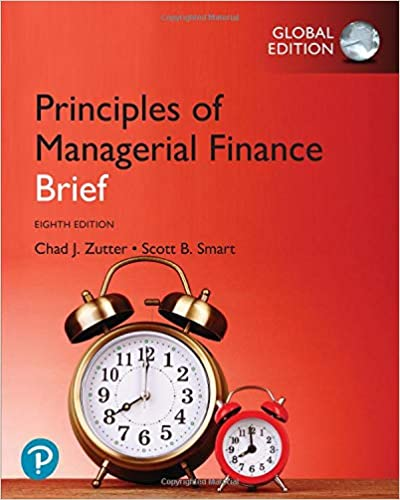 Principles of Managerial Finance, Brief, Global Edition (8th Edition) - Original PDF