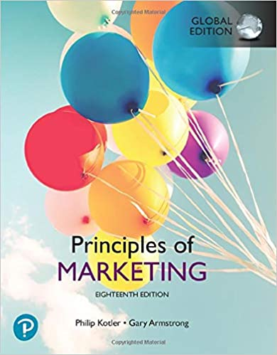 Principles of Marketing Global Edtion (18th Edition) - Original PDF