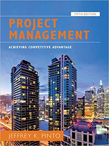 Project Management: Achieving Competitive Advantage (5th Edition) - Image pdf with ocr