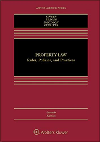 Property Law:  Rules, Policies, and Practices (7th Edition) - Epub + Converted Pdf