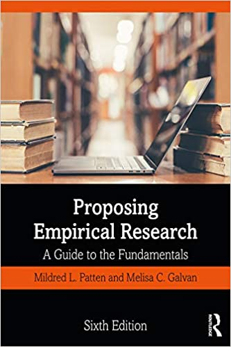 Proposing Empirical Research: A Guide to the Fundamentals (6th Edition) - Original PDF