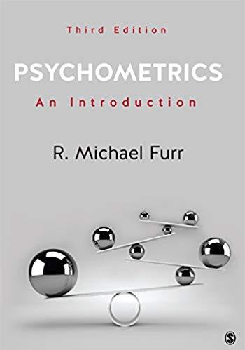 Psychometrics: An Introduction 3rd Edition