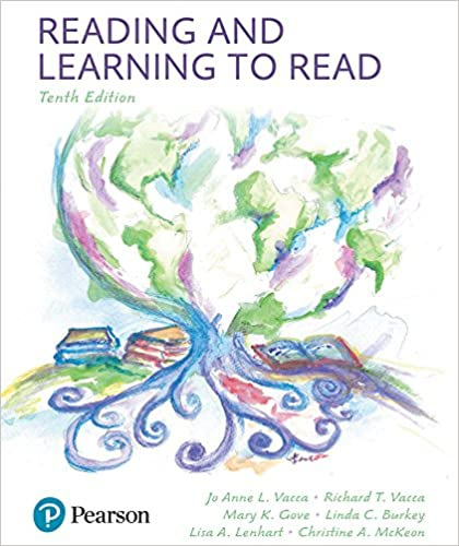 Reading and Learning to Read (10th Edition) BY Vacca - Orginal Pdf