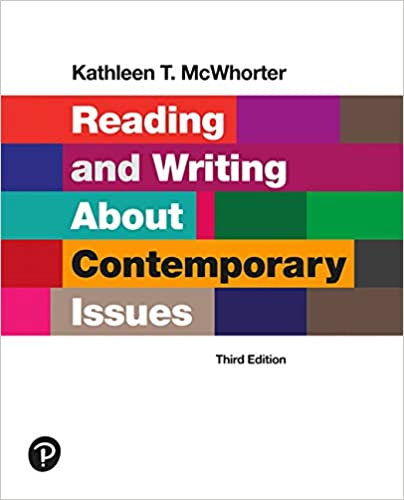 Reading and Writing About Contemporary Issues (3rd Edition) [2020] - Original PDF