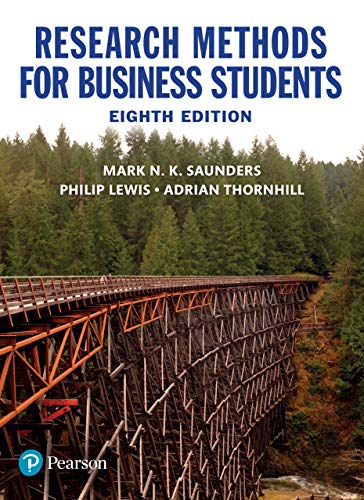 Research Methods for Business Students (8th Edition)- Original PDF