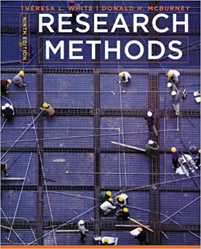 Research Methods (9th Edition) - Original PDF