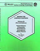 Resins for Surface Coatings, Polyurethanes Polyamides Phenolplasts Aminoplasts Maleic Resins VOL 3 (2nd Edition) - Scanned pdf