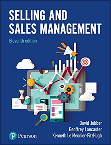 Selling and Sales Management (11th Edition) - Original PDF