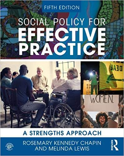 Social Policy for Effective Practice: A Strengths Approach (5th Edition) [2020] - Original PDF