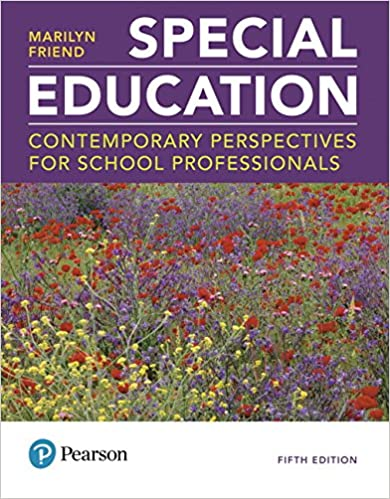 Special Education:  Contemporary Perspectives for School Professionals (5th Edition) - Original PDF