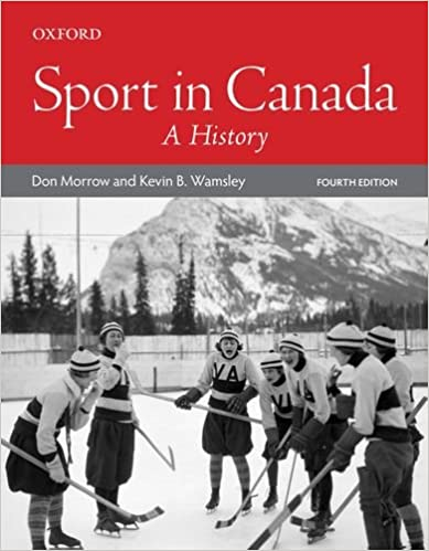 Sport in Canada: A History (4th Edition) - Image pdf with ocr