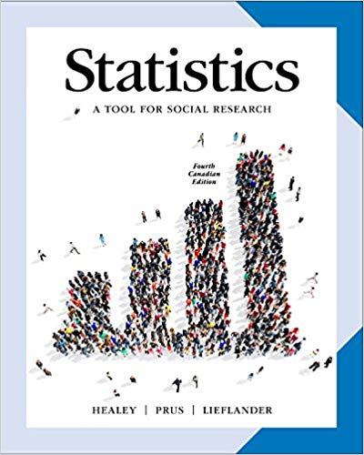 Statistics: A Tool for Social Research (Canadian Edition)(4th Edition)
