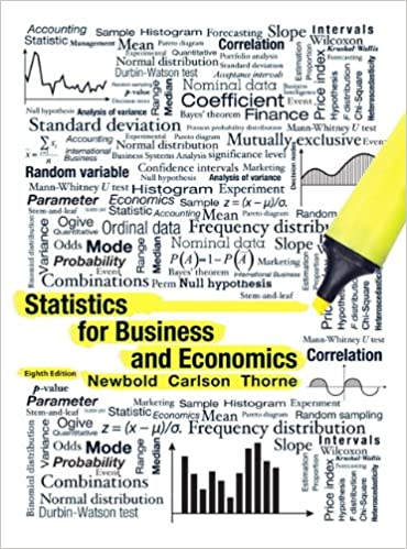 Statistics for Business and Economics (8th Edition) - Original PDF