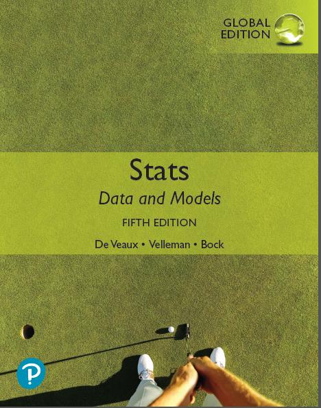 Stats: Data and Models Global Edition (5th Edition)  - Orginal Pdf