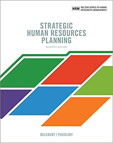 Strategic Human Resources Planning (7th edition)