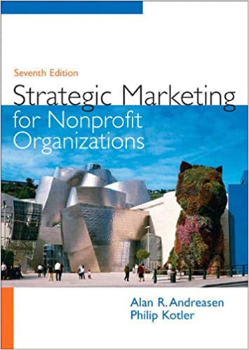 Strategic Marketing for Non-Profit Organizations (7th Edition) - Original PDF