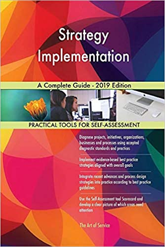 Strategy Implementation A Complete Guide - 2019 Edition - Epub + Converted pdf
