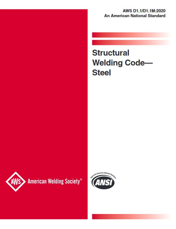 AWS D1.1/D1.1M Structural Welding Code—Steel (24th Edition) - PDF