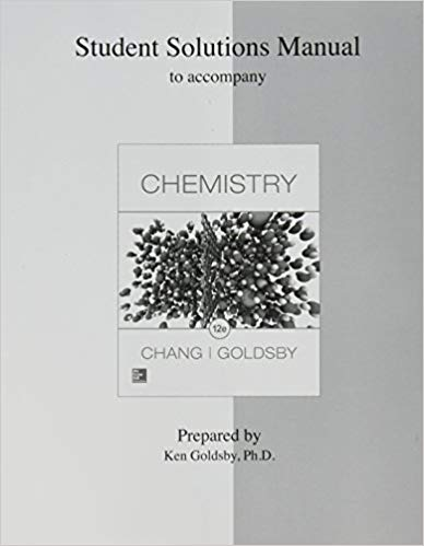 Student Solutions Manual for Chemistry + test bank (12th Edition)