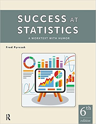 Success at Statistics: A Worktext with Humor (6th Edition) - Original PDF