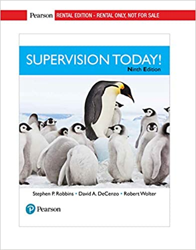 Supervision Today! (9th Edition) [2019] - Original PDF