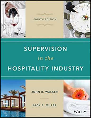 Supervision in the Hospitality Industry (8th Edition) - Original PDF