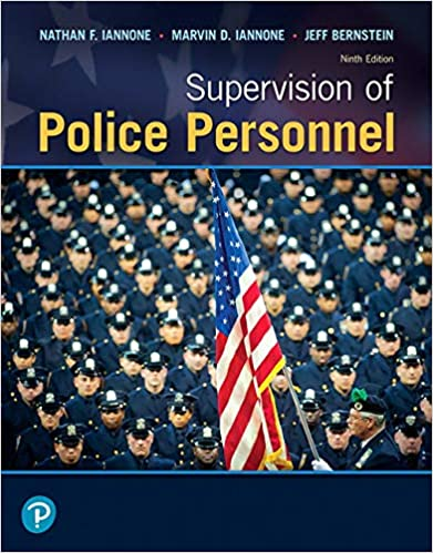 Supervision of Police Personnel (9th Edition) [2020] - Image pdf with ocr
