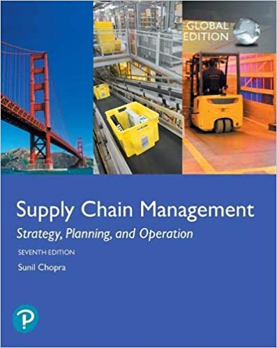 Supply Chain Management:  Strategy, Planning, and Operation, Global Edition (7th Edition) - Original PDF