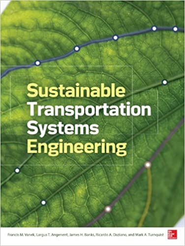 Sustainable Transportation Systems Engineering: Evaluation & Implementation - Epub + Converted pdf